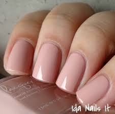 ida nails it lacquer lust au natural collection swatches and review