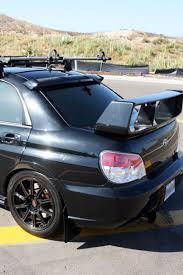 impreza subaru 2006 carbon fiber rear roof spoiler for 2006 2007 subaru impreza wrx sti