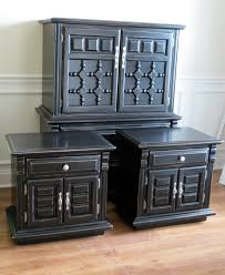 Bedroom Furniture Black Black Painted Furniture This Is How You Make Those Clunky Old