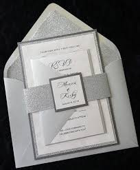 silver wedding invitations silver wedding invitations marialonghi