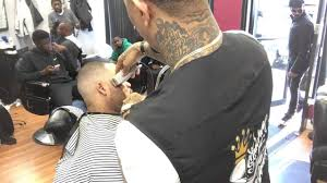 skin fade haircut with beard line up by sneed the barber youtube