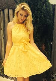yellow dress yellow dress archives howto wear