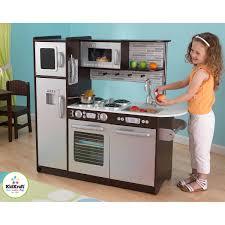 kidkraft modern espresso kitchen alluring 25 costco kitchen play set inspiration of kidkraft