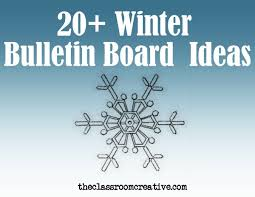 themed sayings winter bulletin boards