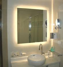 led bathroom mirror collection with back lighted mirrors images