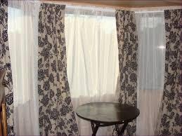 Sheer Window Treatments Furniture Fabulous Off White Sheer Window Panels Sheer Window