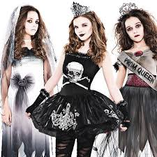 Zombie Halloween Costumes Adults Zombie Girls Age 12 16 Fancy Dress Halloween Teen Kids Childs