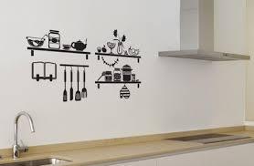 pochoir pour cuisine des stickers muraux pour la cuisine stickers muraux stickers et