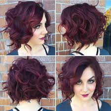 stacked in back brown curly hair pics 6 best curly wavy stacked haircuts for short hair 2017