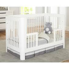 Crib Rails For Convertible Cribs Sorelle Chandler Crib Toddler Rail In White