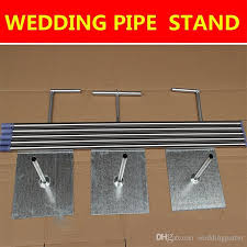 top quality wedding backdrop decoration stand stainless steel pipe
