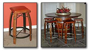 Barrel Bistro Table Wine Furniture For Your Homes Part I