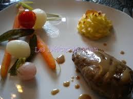 cuisiner du marcassin médaillons de marcassin et petits légumes glacés les délices de mimm