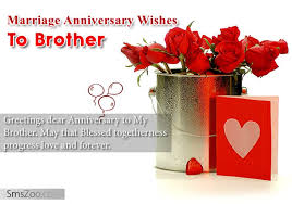 Wedding Day Greetings Anniversary Wishes For Brother Wishes Greetings Pictures