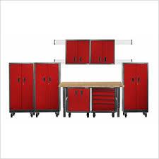Garage Cabinet Set Red Gladiator Garageworks Cabinets