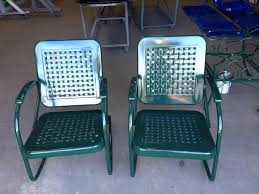 Vintage Patio Furniture Metal by Ways To Paint Outdoors Vintage Metal Lawn Chairs All Home