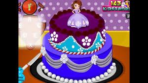 sofia cake game games amazing baby games