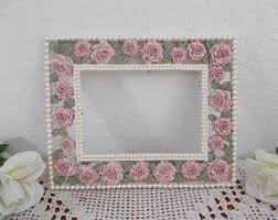 Pearl Home Decor Pearl Picture Frame Etsy