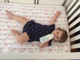 Baby Crib Mattress Reviews Bedding Cribs Modern Aquatic Pillowcase Hypoallergenic Satin