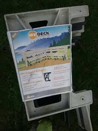 Deck Bench Bracket Find More Deck Bench Bracket For Sale At Up To 90 Off Oshawa On