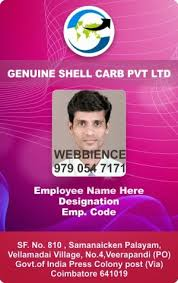 webbience employee id cards