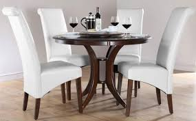 luxury round dining table luxury white round dining table set for 4 eva furniture