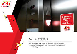 my advertising portfolio act fibernet activation ideas