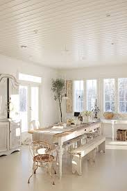 Swedish Home Decor Modern Dining Room Design And Decorating In Vintage Style With