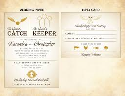 harry potter wedding invitations 50 best harry potter ideas for weddings emmaline wedding