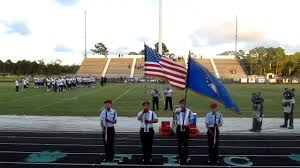 Color Guard Presentation Of The Flags Josh Petrin Presenting Colors 10 3 2012 Youtube