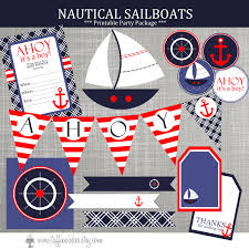 Nautical Baby Shower Centerpieces by Nautical Baby Shower Decorations Nautical Birthday Party