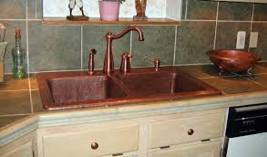 mountain rustic copper sink