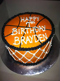 basketball birthday cake cakes design
