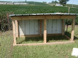 plans for a goat shed