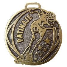 placas 20 tienda de trofeos deportivos personalizados medalla genérica de patinaje en acabados envejecidos y brillantes