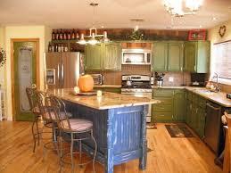 country kitchen with specialty door u0026 breakfast bar in apache