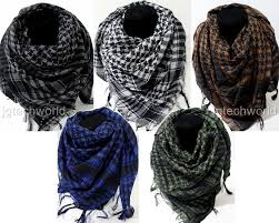 arab wrap new women men fashion lot of 5 wholesale arab shemagh keffiyeh