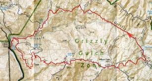 Henry Coe State Park Map by Henry Coe Grizzly Gulch Bay Area Mountain Bike Rides