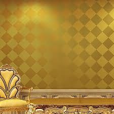 Favorito Beibehang rolos de papel de parede 3d papel de parede de ouro  &DY66