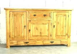 buffet meuble cuisine buffet de cuisine en pin massif bahut moderne en bois meuble de