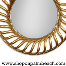 Round Mirrors Large Round Gold Gilt Mirror For Sale At 1stdibs