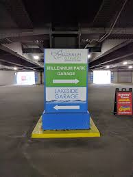 Chicago Permit Parking Map by Millennium Park Parking In Downtown Chicago