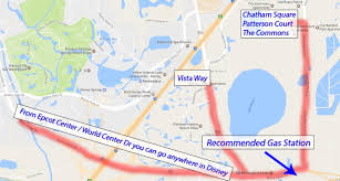 Map Of Downtown Disney Orlando by Driving At Walt Disney World Disney College Program Tips Dcpdcp