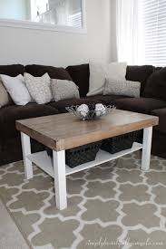 coffee table ikea lack coffeeble hack with mirrors birch