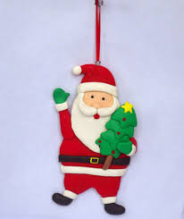 santa claus polymer clay ornaments id 6811477 product