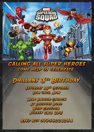 superhero birthday party invitations for you thewhipper com