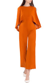 orange jumpsuit doublewoot fashion store malaysia leading fashion