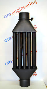 flue pipe chimney woodburning stove radiator heat exchanger with
