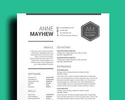 editable resume template free resume template cv template mac pc professional cv black