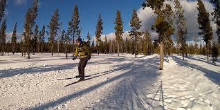 wanoga sno park cross country ski loop cross country skiing in